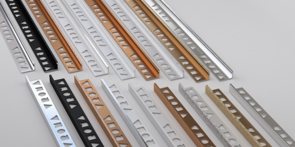 CJ extrusions render 203 L standard profile all finishes