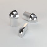 CJ extrusions render 239 round external corner bright chrome