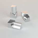 CJ extrusions render 241 round inner corner polished