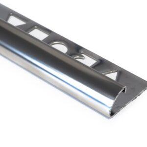 Vroma Mirror Chrome Quadrant 2.5M Heavy Duty 304 Stainless Steel Tile Trims