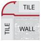 Vroma Samples - vroma-bright-chrome-quadrant-2-5m-heavy-duty-aluminium-tile-trims