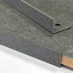 Pebble Stone Straight Edge L-Shape 2.5M Heavy Duty Aluminium Tile Trims