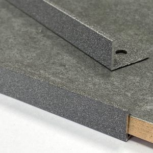 Pebble Stone Straight Edge L-Shape 2.5M Heavy Duty Aluminium Tile Trims