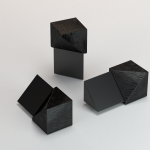 CJ extrusions render 245 inner triangle black brushed